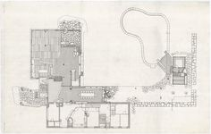 Architectural drawings of the Villa Mairea – Alvar Aalto Shop