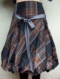 Glamorous puffy taffeta skirt baloon skirt size XL by couvert
