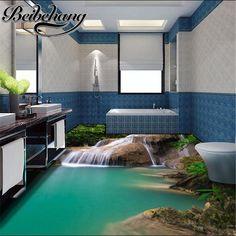 beibehang Modern marine custom 3D flooring custom wear non - slip waterproof thickening self - adhesive pvc flooring wallpaper