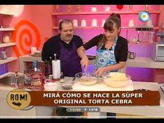 Esponjosa torta cebra - YouTube
