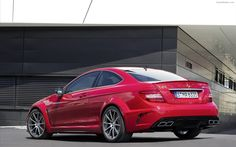 Mercedes Benz C63 AMG Coupe Black Series 2012 Widescreen Exotic Car Pictures  #12 of 30 : DieselStation