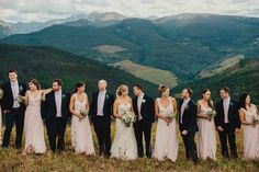 Wedding Party - Vail Wedding Deck - Vail Wedding Photographer - Teresa Woodhull Photography