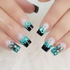 Find out all Ulta Beauty Coupons & Promo Codes. French Tip Nail Designs, Acrylic Nail Designs, Nail Art Designs, Acrylic Nails, Hair And Nail Salon, Hair And Nails, Cute Nails, Pretty Nails, Joy Nails