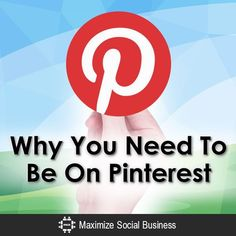 Why You Need To Be On #Pinterest. Social Media Examiner recently asked marketers which forms of content they most want to learn about in 2015. Creating original visual assets took first place. 70% of marketers plan to increase their use of original visual assets in 2015.