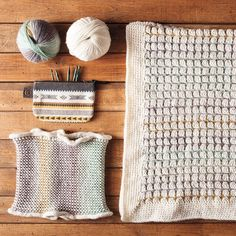 """A few staff projects featuring the new Chroma color Manzanita - we're in l-o-v-e! Bonus: Emily wrote up her cowl as a free pattern for you: just search for """"Enchanted Valley Cowl"""" on knitpicks.com to get it as a download. #colorobsessed #chromayarn #knitting #crochet #yarn #knitpicks by knit_picks"""
