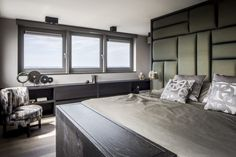 Project penthouse - Hoog ■ Exclusieve woon- en tuin inspiratie. Home Bedroom, Master Bedroom, Interior Architecture, Interior Design, Art Of Living, Home Look, Being A Landlord, The Unit, House