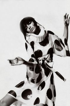 Mariacarla Boscono by Mario Testino for Vogue Italia.