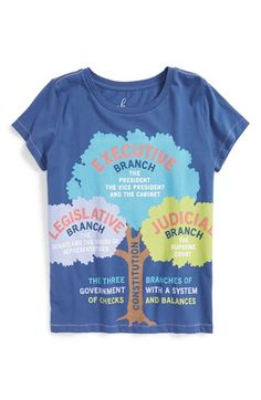 Peek 'Branch' Graphic Tee (Toddler Girls, Little Girls & Big Girls) available at #Nordstrom