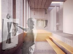 Room 3 - Conceptual render by dms infoarquitectura