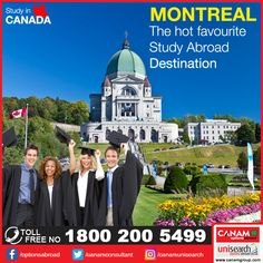 The second largest city in #Canada, #Montreal is one of the best study destinations in the world. Montreal gives you a chance to experience the best of culture and education facilities. Many reputed #colleges and #universities are located in Montreal. If you need more guidance on what courses to choose in the leading colleges or universities of the world, meet with the expert team of #CanamConsultants www.canamgroup.com #StudyVisa #StudentVisa