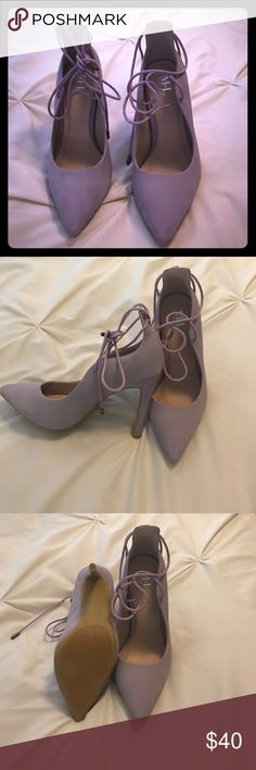 NWOT lilac heels NWOT Lilac purple heels. So sexy & great with so many outfits/ color schemes. m&l Shoes Heels