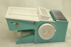 Dial O Matic Food Cutter Turquoise Vintage French Fry Cutter EUVC #DialOMatic