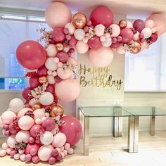 Balloon Arch Diy Discover DIY Retro Dusty Pink Balloon Garland Arch Kit Rose Gold White Balloons for Birthday Baby Shower Weddings Party Decoration Pastel Balloons, Rose Gold Balloons, White Balloons, Wedding Balloons, Ballons With Tulle, Engagement Balloons, Glitter Balloons, Balloon Arch Diy, Balloon Garland