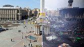 Independence Square: Then and Now - WSJ.com #PrayForUkraine  my heart breaks!:(