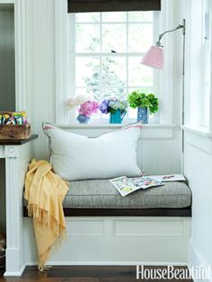 Romantic Decorating Window Seat - Window Seat Design (minus the window for me) Could still do the bench/seat