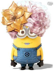 Effie Trinket minion :)