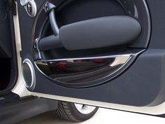 American Car Craft - Mini Cooper Coupe S Door Panel Inserts Chrome ABS 2005-2008