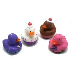 Cupcake Rubber Ducks