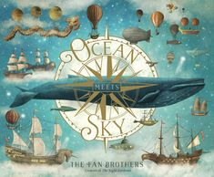 Buy Ocean Meets Sky by Eric Fan at Mighty Ape NZ. Finn remembers the stories his grandfather told him about a place where the ocean meets the sky: where whales and jellyfish soar and birds and castles. Medusa, Magical Paintings, The Zoo, Terry Fan, Album Jeunesse, Urban, Hungry Caterpillar, Young Boys, Peppa Pig