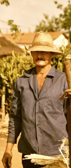 Farmer in Ciego de Avila