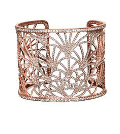 Jacob & Co.'s Abanico Collection Cuff Bracelet #JacobArabo #JacobandCo…