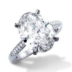 » de Boulle Bridal Collection Oval Cut Diamond Ring » de Boulle Diamond & Jewelry