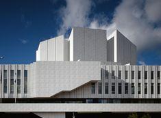 Finlandia Hall Helsinki - concert hall designed by legendary Alvar Aalto
