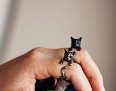 Love these rings! I might actually wear rings if I had these!