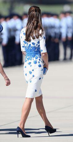 Kate Middleton - The Duke And Duchess Of Cambridge Tour Australia And New Zealand - Day 13