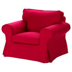 EKTORP Chair - Idemo red - IKEA  **For the living room