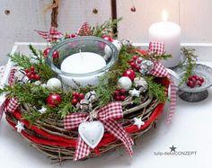 Advent wreath * Herzl *.