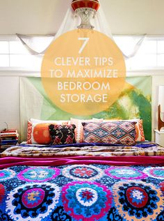 7 Clever Tips To Maximize Bedroom Storage