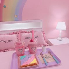 bellyache Girl With Purple Hair, Candy Cakes, Pink Aesthetic, Kawaii, Dream Vacations, Aesthetics, Sweets, Houses, Random