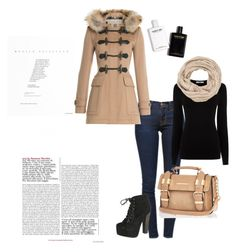 """""""Untitled #18"""" by lejla-demirovic92 ❤ liked on Polyvore featuring мода, Frame Denim, Burberry, Oasis, Breckelle's, River Island и maurices"""