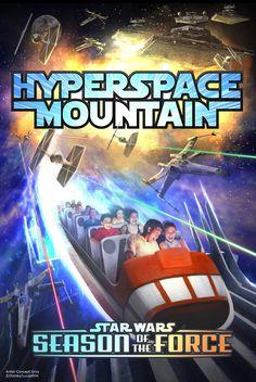 Le Space Mountain français va subir un relooking aux couleurs de Star Wars !
