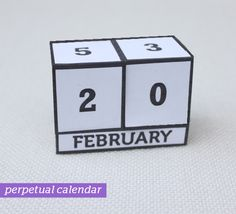 I Sew Do You Make A Fall Perpetual Calendar Tutorial  Wood