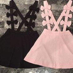 Faldas con tirantes