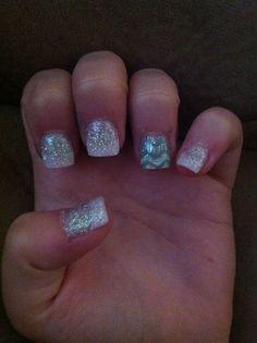 My homecoming nails <33