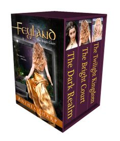 http://bookbarbarian.com/feyland-the-complete-trilogy-by-anthea-sharp-2/ - Faeries. Computer games. A boy from the wrong side of the tracks, and the girl he's afraid to love…What if a high-tech computer game was a gateway to the treacherous Realm of Faerie? Now all three books are available in digital format.
