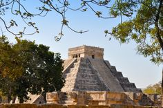 "The Temple of Kukulkan or ""El Castillo"" by Fotopedia Editorial Team"