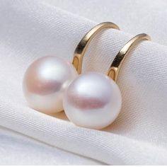 Genuine Freshwater Pearl Earrings – Nonesuch Treasures