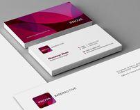 Innova Interactive Identity // Branding by Mohd Almousa, via Behance