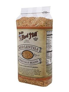 Bobs Red Mill Red Lentils 27 Ounce ** Check this awesome product by going to the link at the image.