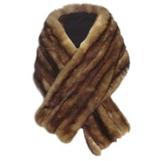 50s Sable Wrap - Four Pelts Wide!- Reminds me of my mother's stole