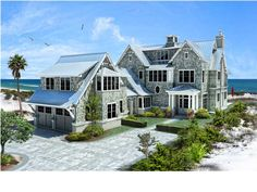 One of a kind beach front home in historic Seagrove Beach