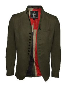 Be Wired Jacket in olive by Bolongaro Trevor
