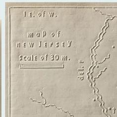 1837 Atlas for the Blind