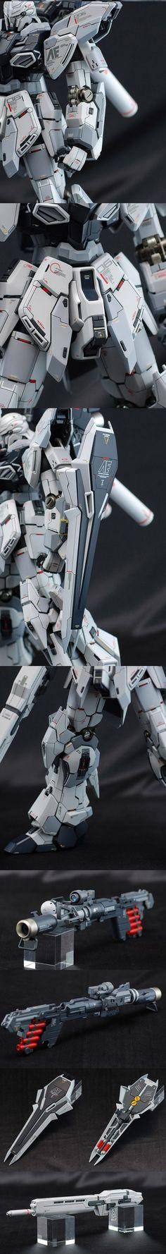www.pointnet.com.hk - 模型作品 MG 1/100 SINANJU STEIN 原石