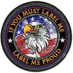 Got American Pride? We got Patriotic Patch designs for you. Embroidered American Flags, Patriotic Phrases, take a look. It's well organized, even got videos of the patches American Pride, American Flag, Foto Instagram, Instagram Posts, Flag Patches, Patch Design, Eagles, The Past, Embroidery