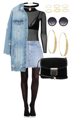 """Untitled #642"" by stdesir on Polyvore featuring Betsey Johnson, SPANX, GRLFRND, LE3NO, Givenchy, Lana and Alice + Olivia"